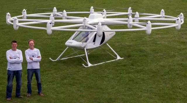 Немецкий E-Volo - двухместный Volocopter 2X