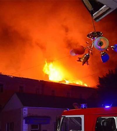Водители Оптимального такси 579 в Луцке помогали эвакуировать больных во время пожара в военном госпитале!